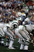 Jets Photo Metal Prints - Joe Namath Poster Metal Print by Sanely Great