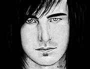 Drummer Drawings Metal Prints - Joe Rickard Metal Print by Kayleigh Semeniuk
