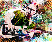 Ryan Rabbass - Joe Satriani Original Art