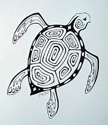 Featured Artist Originals - Joeys Sea Turtle by Joey Nash