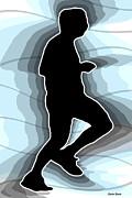 Jog Print by Stephen Younts