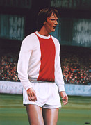 Johan Cruijff  Print by Paul Meijering