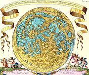 Science Source - Johannes Hevelius Moon Map 1647