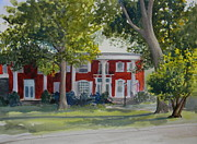 Owensboro Kentucky Framed Prints - John A. Medley Sr. House Framed Print by Todd Derr
