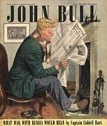 Nineteen-forties Art - John Bull 1946 1940s Uk Reading by The Advertising Archives