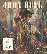 Nineteen Forties Art - John Bull 1947 1940s Uk Markets Covent by The Advertising Archives
