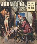 Featured Art - John Bull 1948 1940s Uk Art Artists by The Advertising Archives