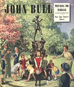 Featured Art - John Bull 1948 1940s  Uk J M Barrie by The Advertising Archives