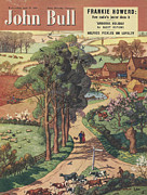 Featured Art - John Bull 1950 1950s Uk Country Roads by The Advertising Archives