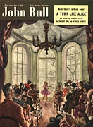 Featured Metal Prints - John Bull 1950s Uk Ballet Recitals Metal Print by The Advertising Archives