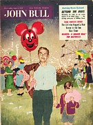 Candy Drawings - John Bull 1950s Uk Balloons Candy-floss by The Advertising Archives