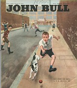 Featured Art - John Bull 1950s Uk Cricket Dogs by The Advertising Archives