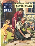 Featured Metal Prints - John Bull 1950s Uk Diy Magazines Metal Print by The Advertising Archives