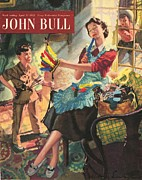 Featured Metal Prints - John Bull 1950s Uk  Fancy Dress Indians Metal Print by The Advertising Archives