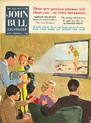 Vacations Drawings Prints - John Bull 1950s Uk Holidays Cine-films Print by The Advertising Archives