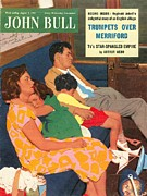 John Bull 1950s Uk Holidays  Trains Day Print by The Advertising Archives