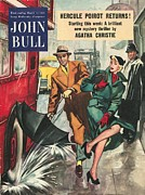Nineteen Fifties Drawings - John Bull 1950s Uk Love Chivalry by The Advertising Archives