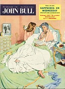 With Love Framed Prints - John Bull 1950s Uk Love Mothers Framed Print by The Advertising Archives