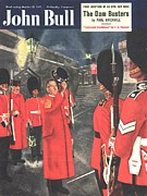 Nineteen-fifties Posters - John Bull 1951 1950s Uk Beefeaters Poster by The Advertising Archives