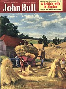 Featured Art - John Bull 1951 1950s Uk Farms Farming by The Advertising Archives
