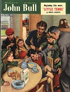 Nineteen Fifties Art - John Bull 1951 1950s Uk Naughty by The Advertising Archives