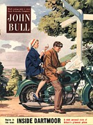 Featured Art - John Bull 1953 1950s Uk Holidays Lost by The Advertising Archives