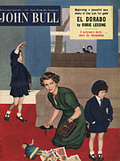 Featured Acrylic Prints - John Bull 1953 1950s Uk Mothers Acrylic Print by The Advertising Archives