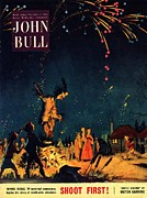 Nineteen Fifties Acrylic Prints - John Bull 1954 1950s  Uk Guy Fawkes Acrylic Print by The Advertising Archives