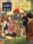 Nineteen-fifties Posters - John Bull 1956 1950s Uk Schools Poster by The Advertising Archives