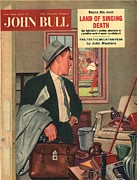 Featured Posters - John Bull 1957 1950s Uk Cleaning Poster by The Advertising Archives
