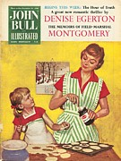 Nineteen Fifties Drawings - John Bull 1958 1950s Uk Cooking Mothers by The Advertising Archives