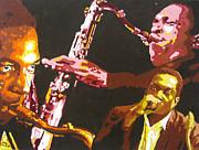 John Coltrane A Love Supreme Print by Ronald Young