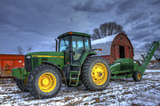 John Deere Print by David Simons