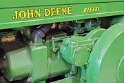 John Deere Diesel Print by Susan Candelario