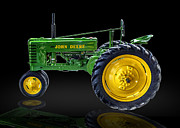 Gary Warnimont Metal Prints - John Deere Model A Metal Print by Gary Warnimont