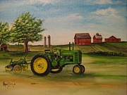 Kendra Sorum - John Deere with Plow