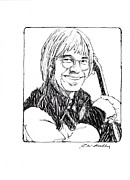 J W Kelly Posters - John Denver Poster by J W Kelly