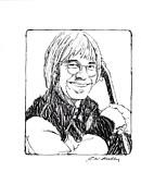 John Denver Print by J W Kelly