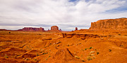Monument Valley Framed Prints - John Fords Point Framed Print by Peter Tellone