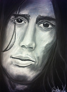 Rhcp Paintings - John Frusciante by Zrinka Kovacevic