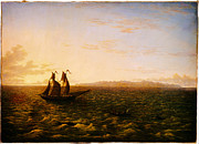 Delacroix Prints - John Glover The Island of Madeira Google Art Project Print by MotionAge Art and Design - Ahmet Asar
