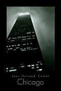 Business-travel Digital Art Prints - John Hancock Center Print by Michelle Calkins