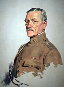 John Pershing Framed Prints - John J. Pershing -- General Of The Armies Framed Print by Cora Wandel