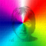 Yoko Metal Prints - John Lennon 1 Metal Print by Andrew Fare