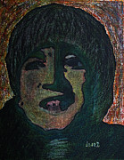 Portraits Paintings - John Lennon 1  by Oscar Penalber