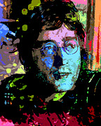 Beatles Art - John Lennon by Allen Glass