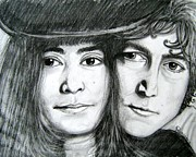 Yoko Originals - John Lennon and Yoko Ono by Patrice Torrillo