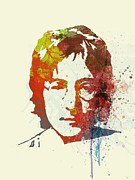 Music Band Framed Prints - John Lennon Framed Print by Irina  March