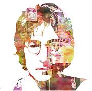 John Lennon Print by Mike Maher