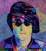 John Lennon Mosaic Print by Jack Zulli